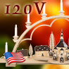 Schwibbogen & Candle Arches · 120 Volt US-Standard