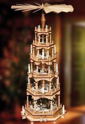 Weihnachtspyramiden & Weihnachten Pyramiden · 6-st�ckige Pyramiden