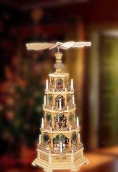 Weihnachtspyramiden & Weihnachten Pyramiden · 4-st�ckige Pyramiden