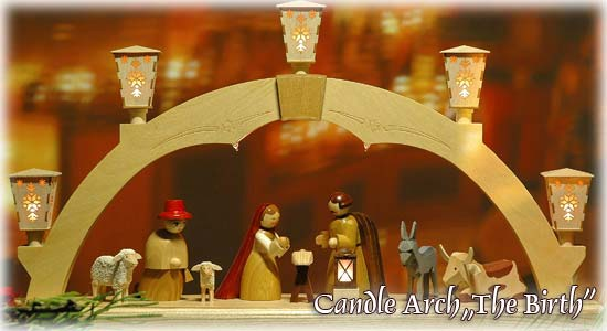 Candle Arch The Birth of Christ